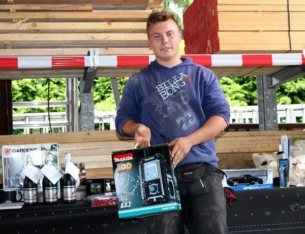 3. Platz - Azubi Philipp Eipel