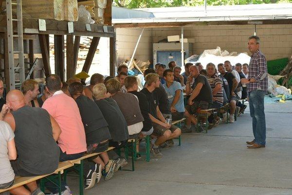Wie mittlerweile jedes Jahr stand letzten Monat wieder unser betriebsinternes Sommerfest an.